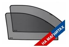 Комплект защитных экранов Laitovo с магнитными держателями Передние Боковые окна